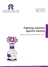Fighting violence against Women: Memorandum on Bill No. 1 0 3- 1 3