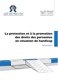 l'Avis du CNDH sur le projet de loi cadre relatif à l'handicap