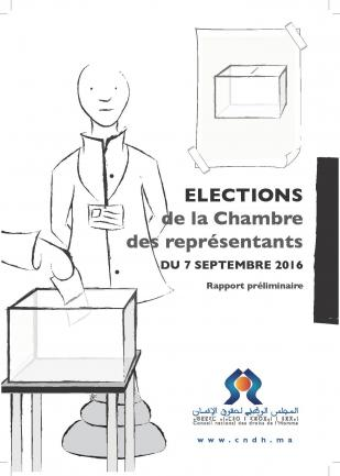 Rapport préliminaire du CNDH sur l'observation des élections législatives 2016