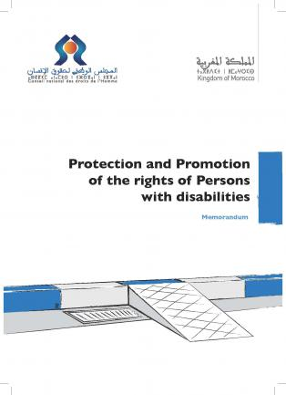 Protection and Promotion of the rights of Persons with disabilities